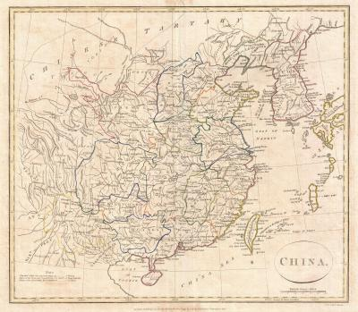1799_clement_cruttwell_map_of_china_korea_and_taiwan_-_geographicus_-_china-cruttwell-1799