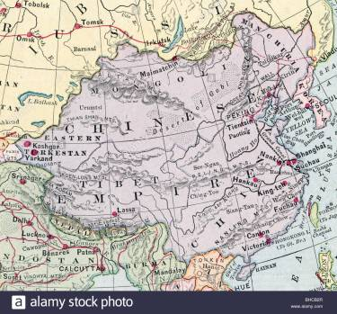 original-old-map-of-china-empire-from-1903-geography-textbook-bhcb2r